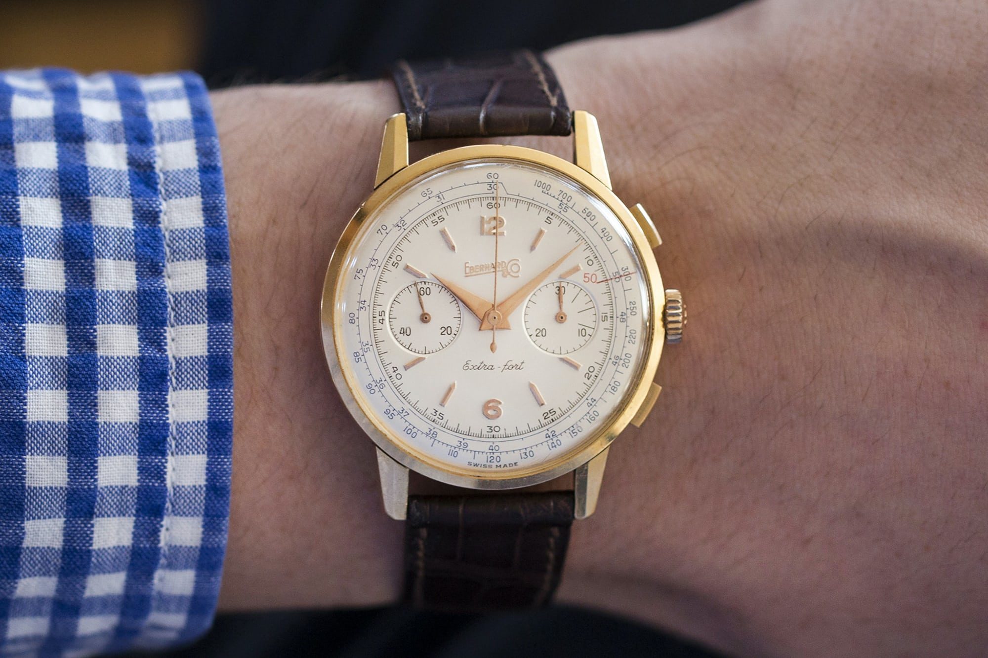 1950s Eberhard & Co. Extra-Fort
