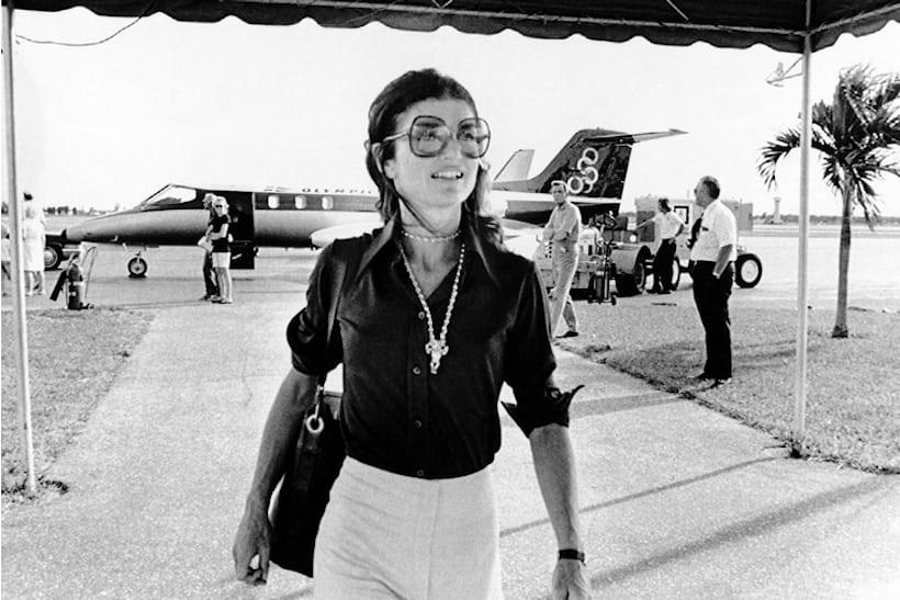 Jacqueline Kennedy Onassis, West Palm Beach, Florida, 1973