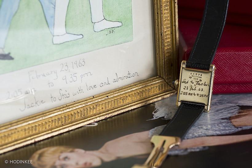 Jacqueline Kennedy watch inscription