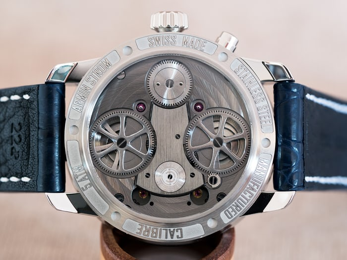 "Armin Strom Mirrored Force Resonance ""Water"" caseback"