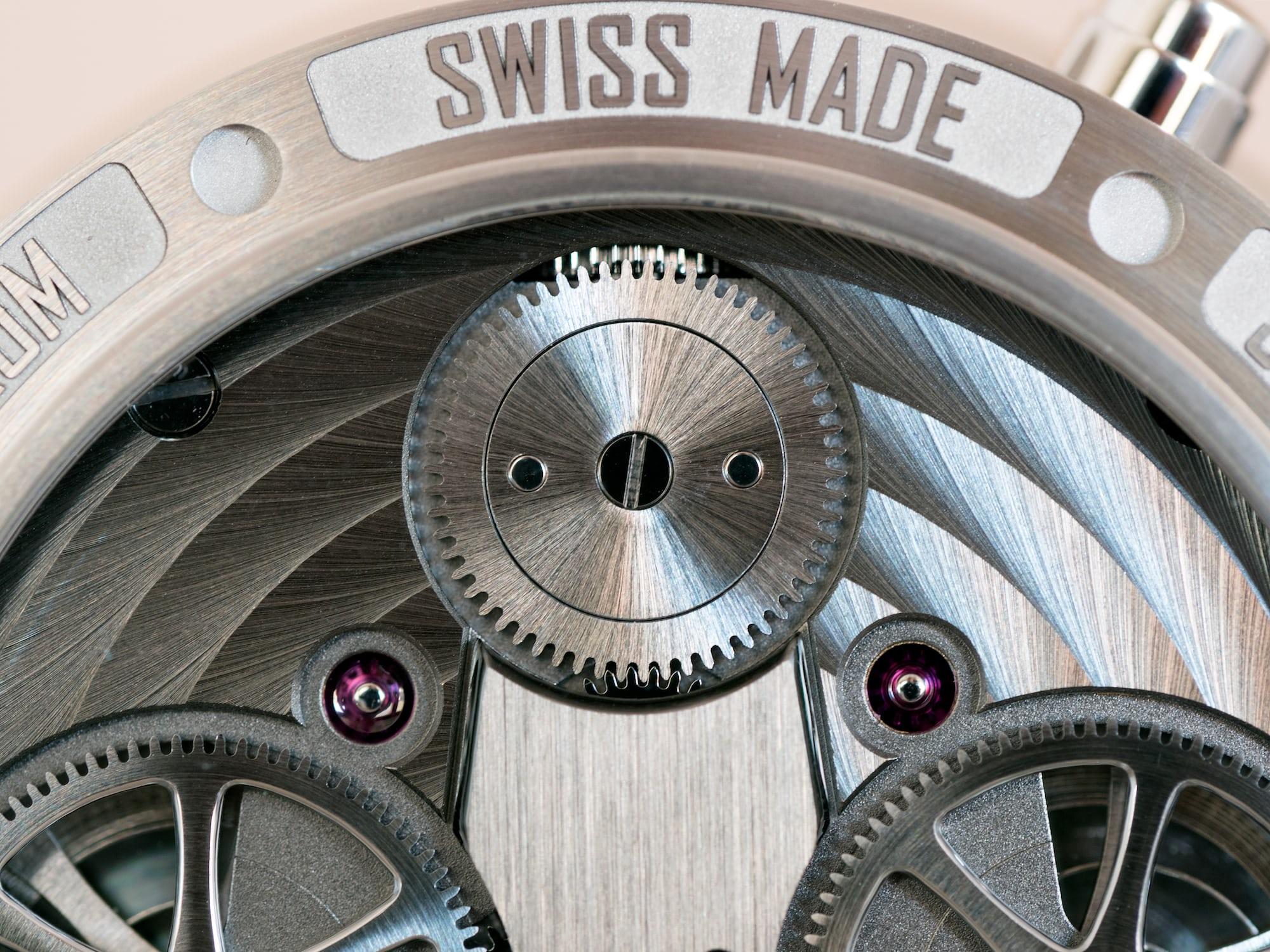 """Armin Strom Mirrored Force Resonance """"Water"""" crown wheel"""