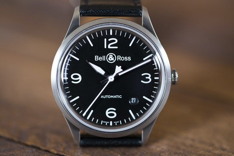 Bell & Ross BR V1-92 dial and hands