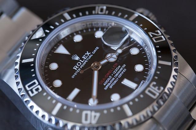 Rolex Sea-Dweller 126600 2017 dial
