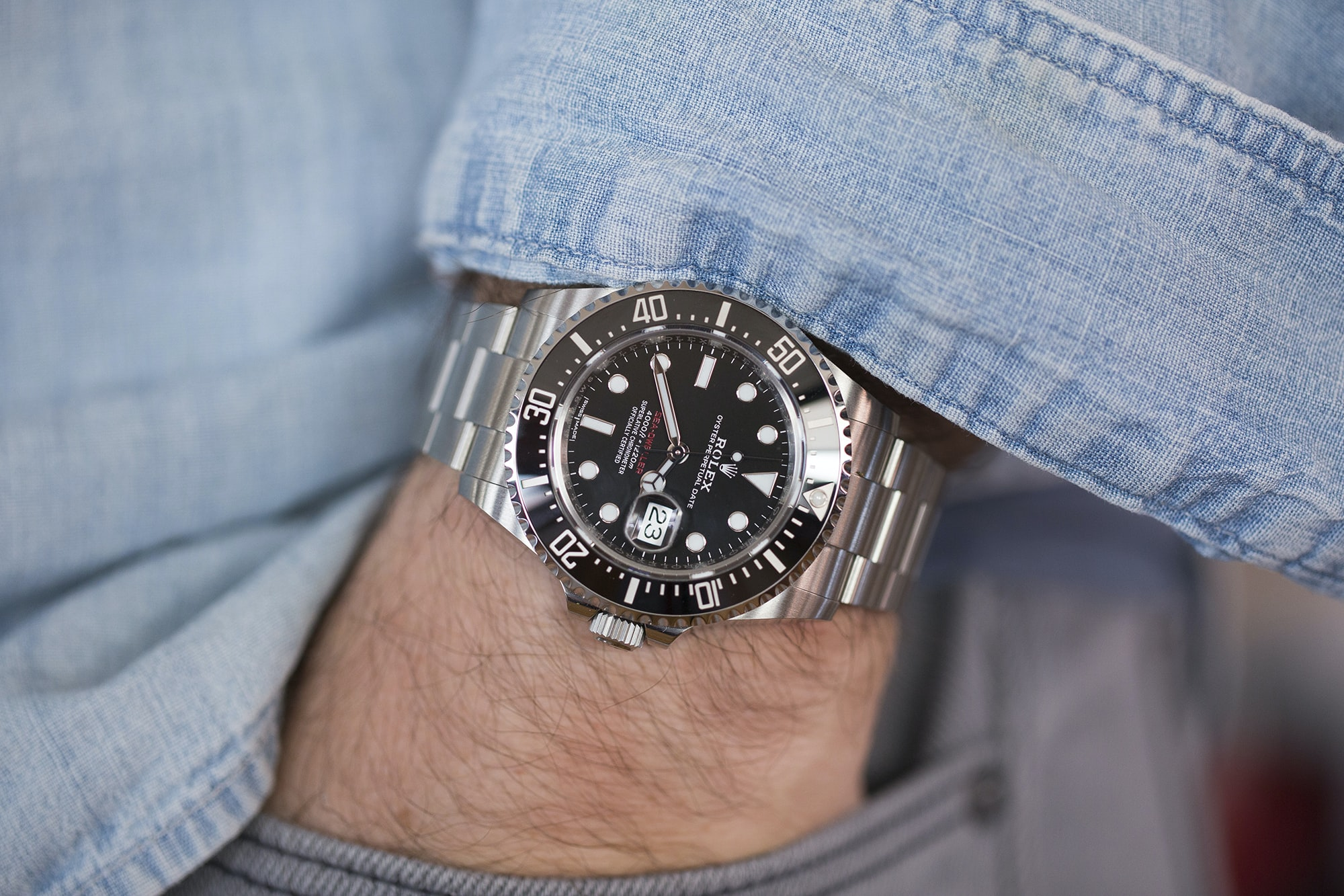 A Week On The Wrist: The Rolex Sea-Dweller Reference 126600 A Week On The Wrist: The Rolex Sea-Dweller Reference 126600  20011569 copy