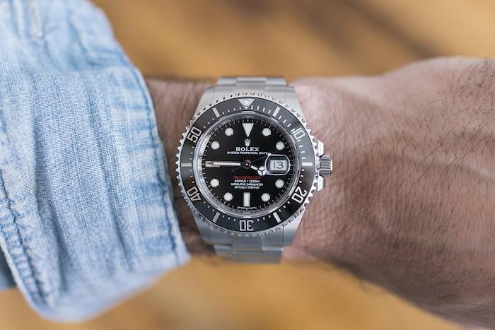 Rolex Sea-Dweller Ref. 126600 wrist shot