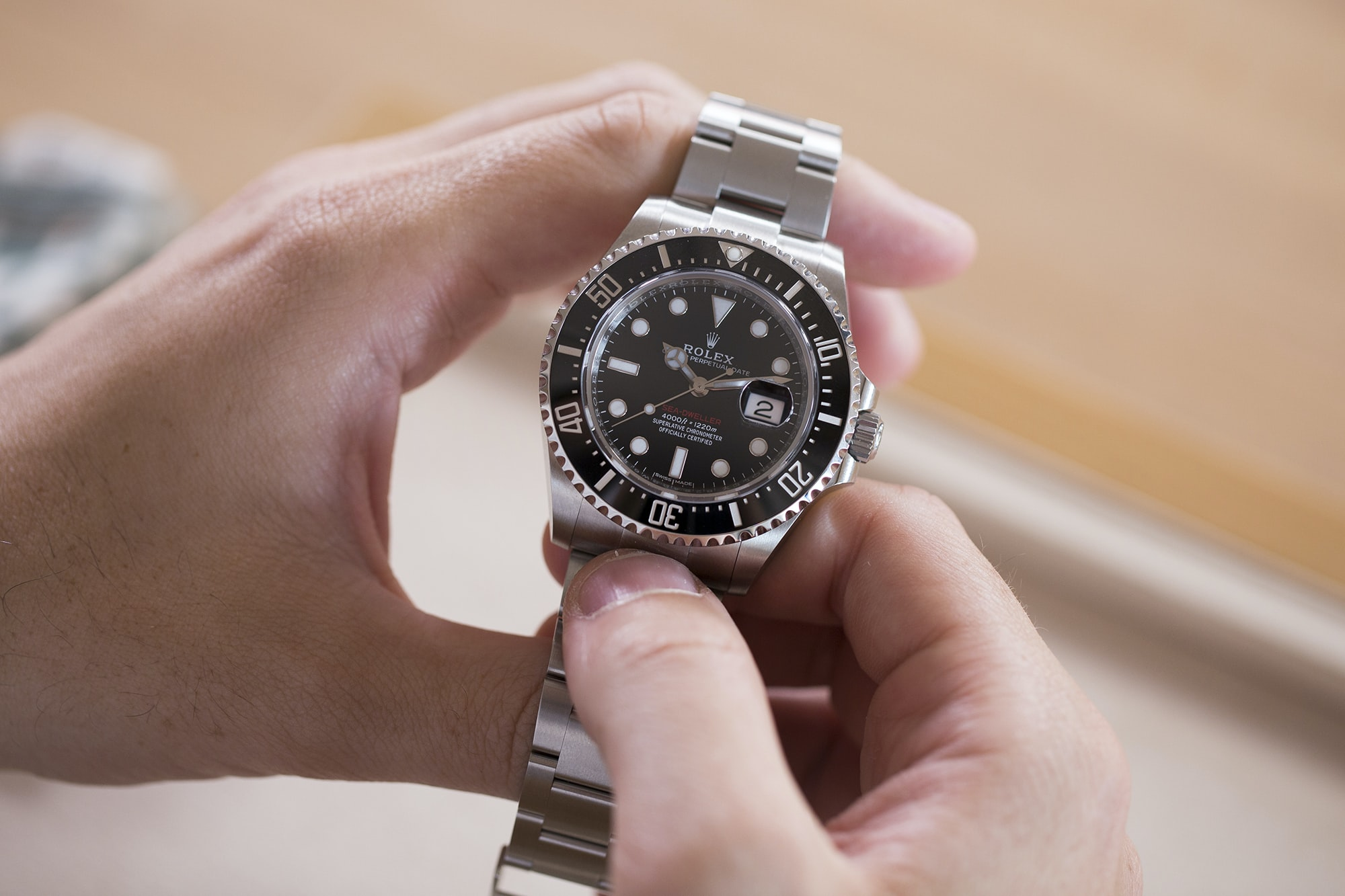 A Week On The Wrist: The Rolex Sea-Dweller Reference 126600 A Week On The Wrist: The Rolex Sea-Dweller Reference 126600  3H0A0239 copy