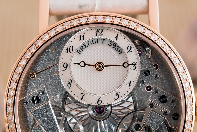Breguet Tradition Dame 7038 mother of pearl dial