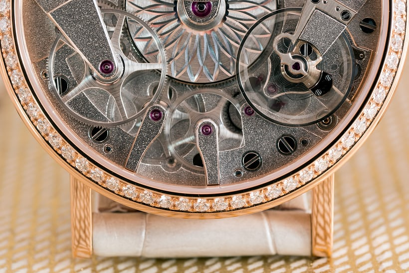Breguet Tradition Dame 7038 going train