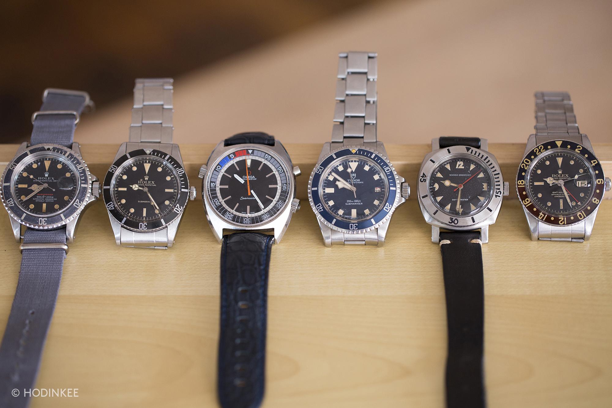 米TV司会者Alton Brownの時計コレクションと逸話