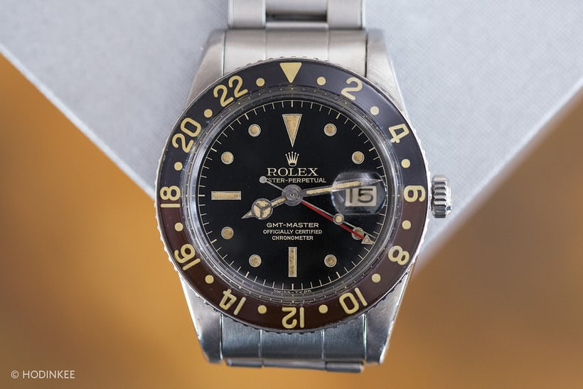 Alton Brown's Rolex 6542.