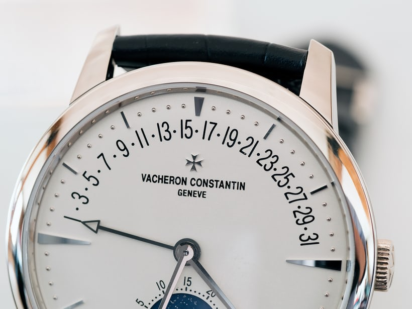 Vacheron Constantin Patrimony Moon Phase And Retrograde Date date sector