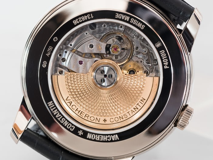 Vacheron Constantin Patrimony Moon Phase And Retrograde Date caseback
