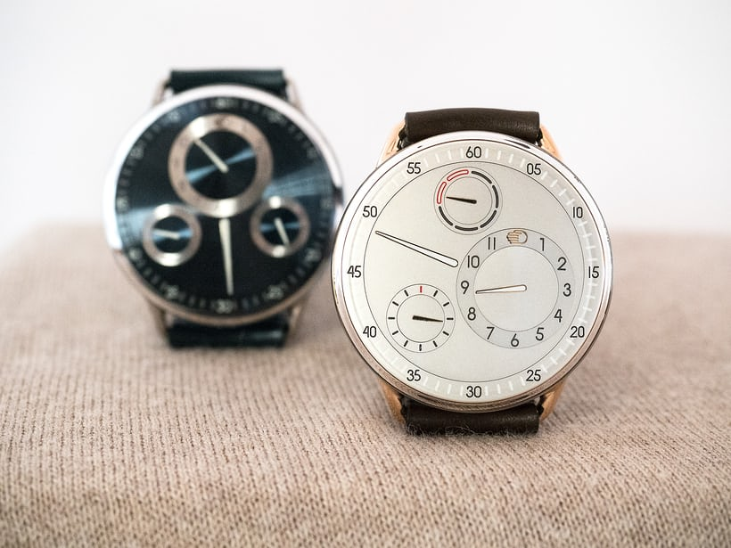 Ressence x Mr Porter Type 1 MRP rose gold