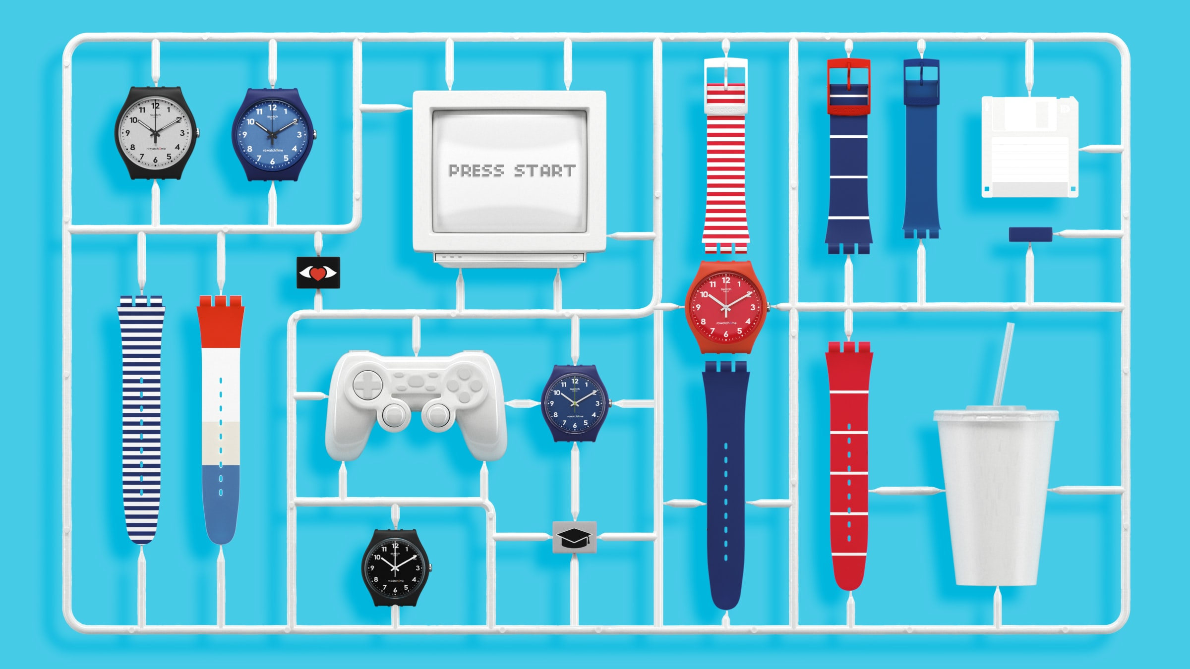 introducing the swatch x you lets you design your own custom swatch