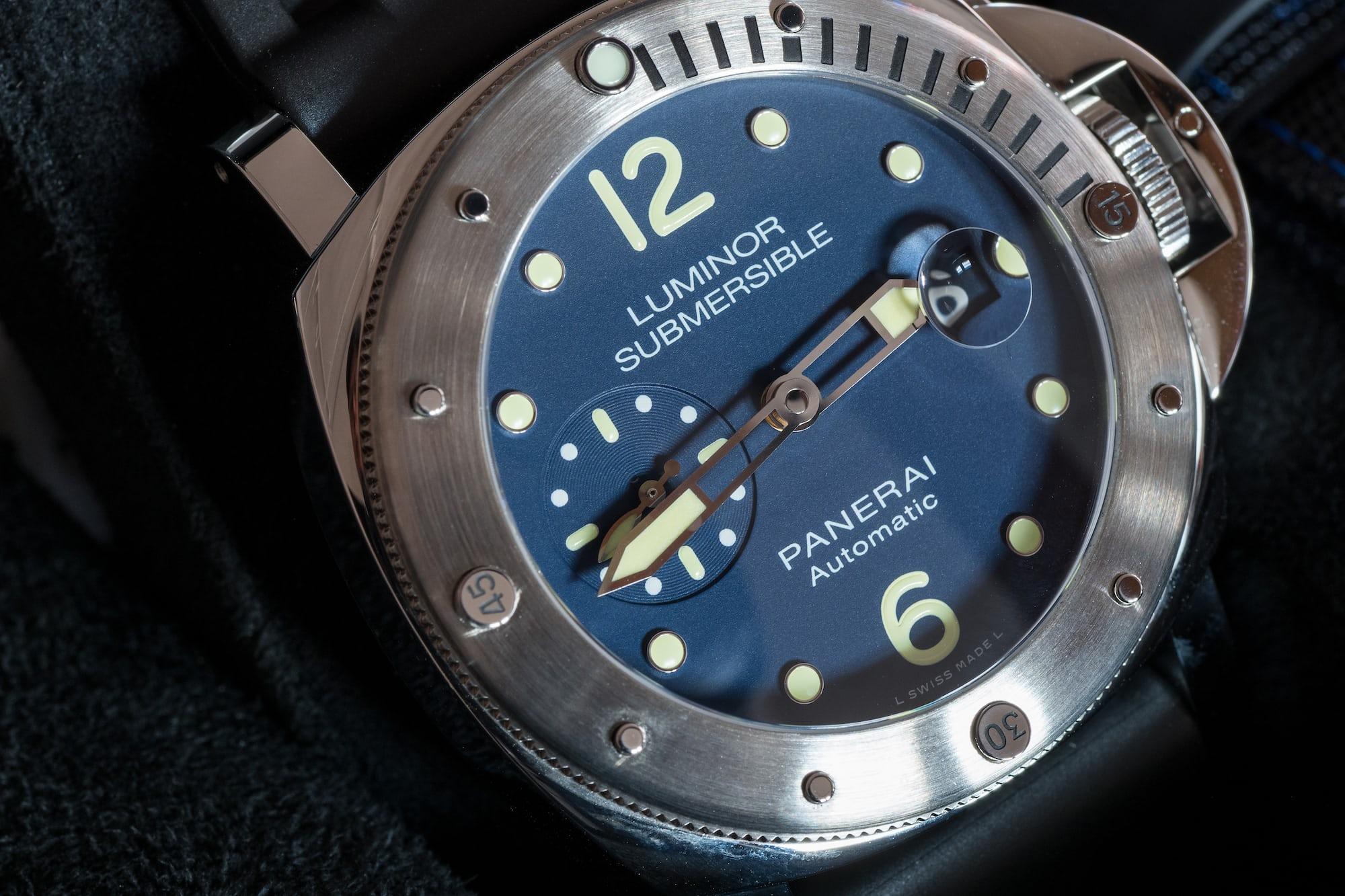 Panerai Luminor Submersible Acciaio PAM00731