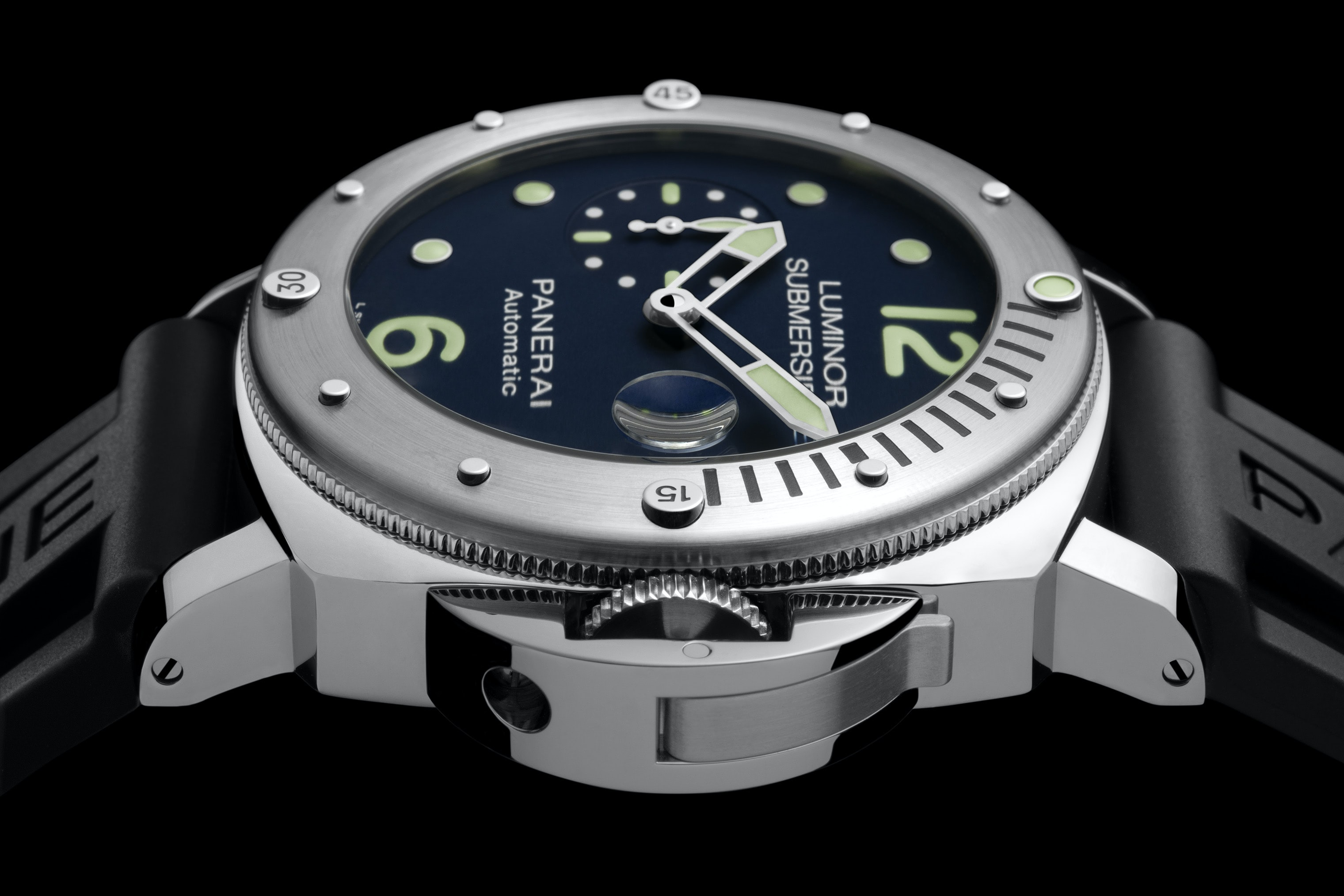 Introducing: The Panerai Limited Edition Luminor Submersible Acciaio PAM00731, An E-Boutique Limited Edition Introducing: The Panerai Limited Edition Luminor Submersible Acciaio PAM00731, An E-Boutique Limited Edition Pam731 Cat Dett02 B