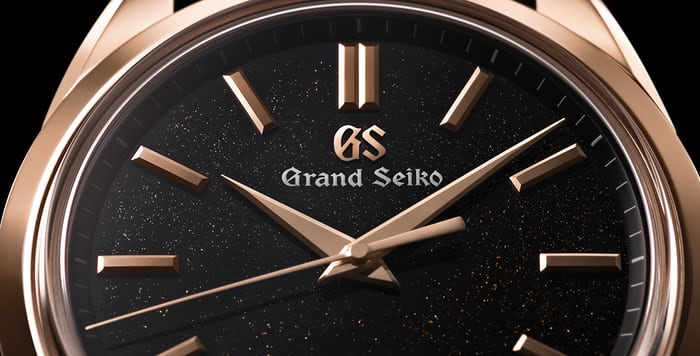 Grand Seiko Spring Drive 8 Day Power Reserve SBGD202 dial