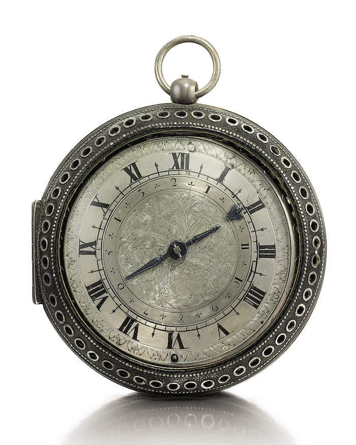 Edward East English Pocket Watch, Mid-17th Century