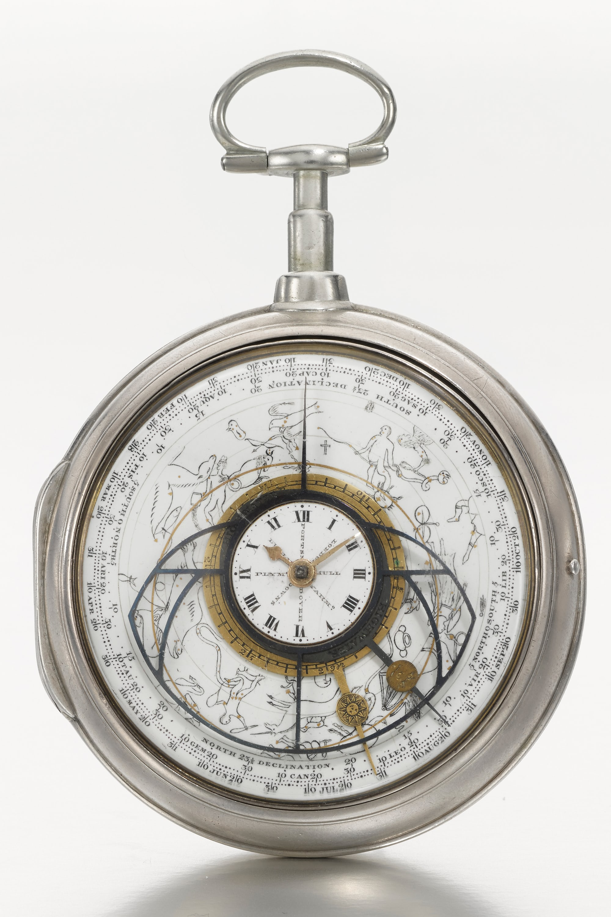 Astronomical watch by George Margetts, 1802 Auction Report: Sotheby's To Offer The Daniels 'Space Traveller' Watch, September 19th In London Auction Report: Sotheby's To Offer The Daniels 'Space Traveller' Watch, September 19th In London Lot 44   George Margetts