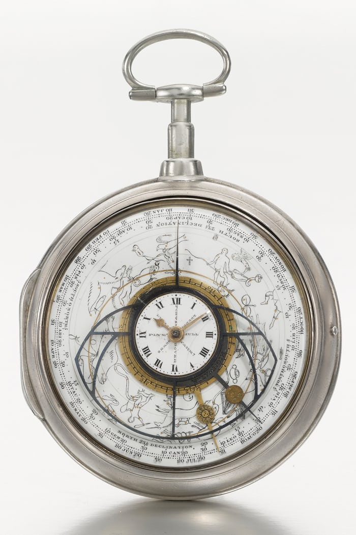 Astronomical watch by George Margetts, 1802