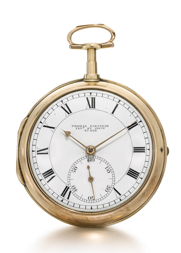 Earnshaw pocket chronometer 1801