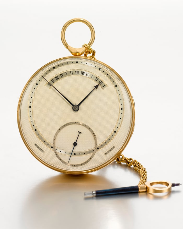 Daniels Tourbillon Pocket Watch 1970