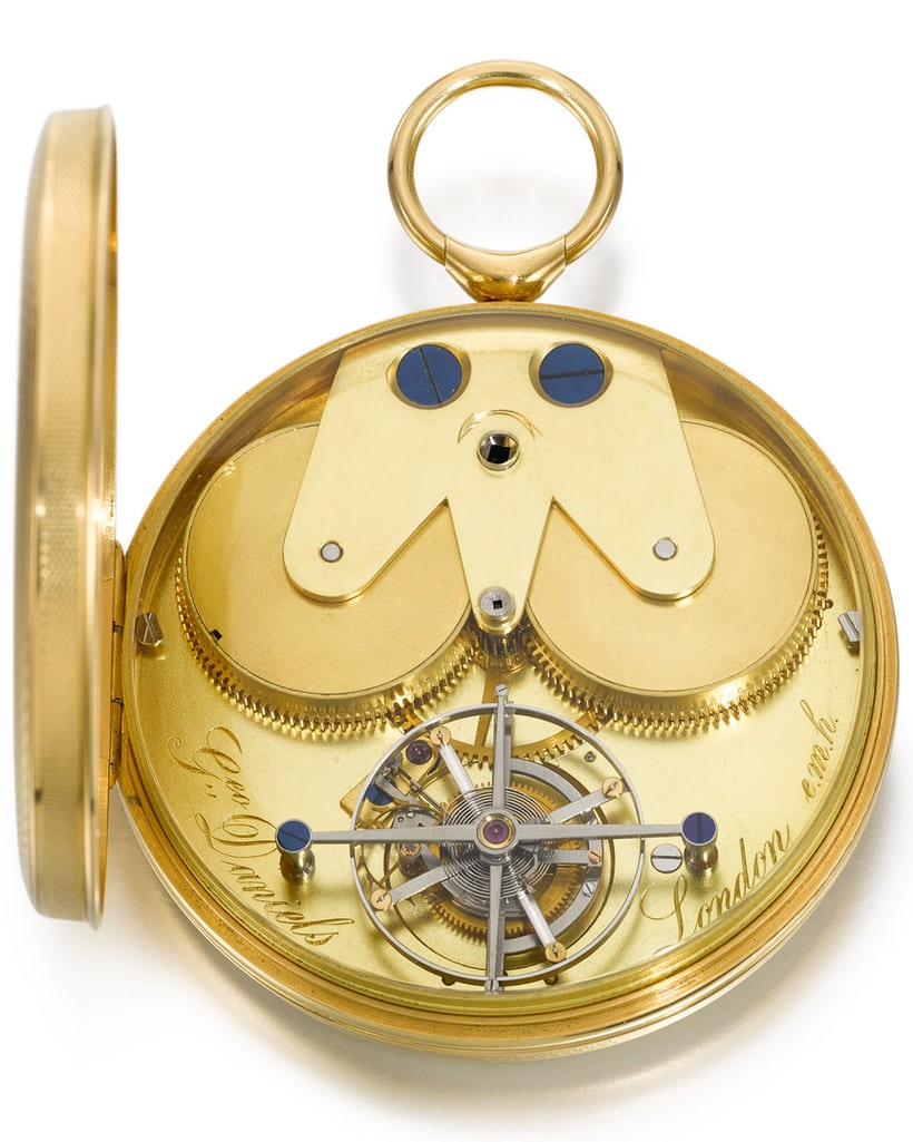 Daniels pocket tourbillon movement