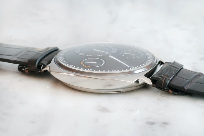 ressence type 1 squared thin case profile