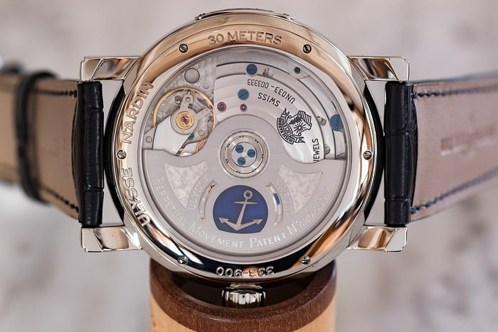 Ulysse Nardin Classic Perpetual Ludwig movement
