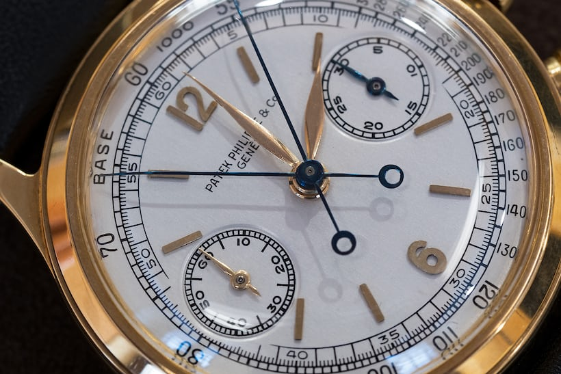 Duke Ellington Ref. 1563 dial closeup