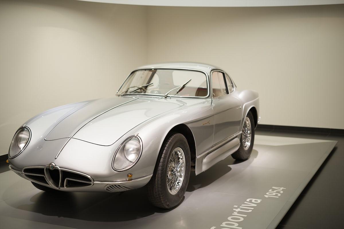 The 1954 Alfa Romeo 2000 Sportiva