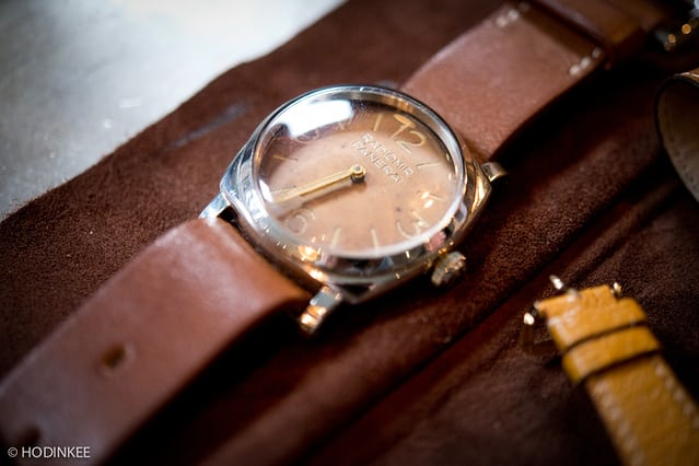 Rolex / Panerai Reference 6152 owned by John Goldberger