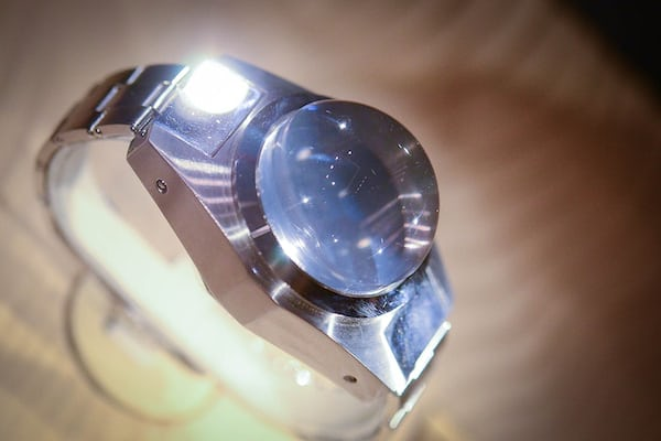 The 1960 Deep Sea Special (42.7mm x 36mm thick - water resistant to 35,814 feet)