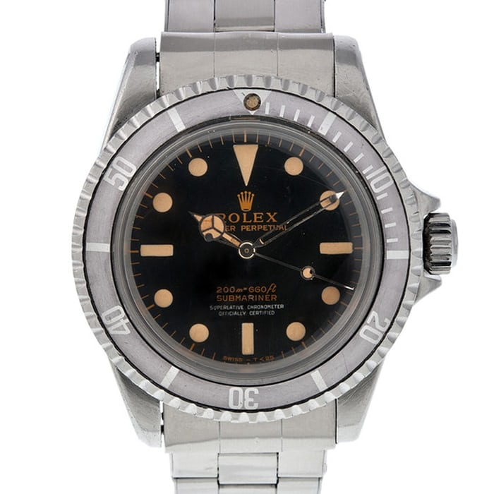 Captain Bob Barth's Rolex Submariner 5512