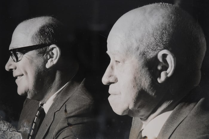 Omar Bradley and Harry Henshel Bulova