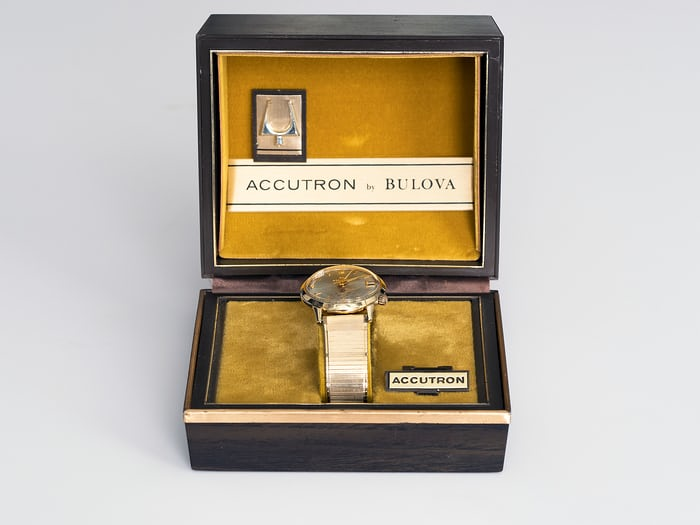 Omar Bradley Accutron and Box