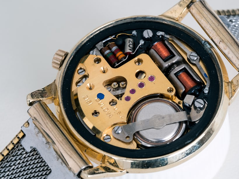 Accutron 218 movement