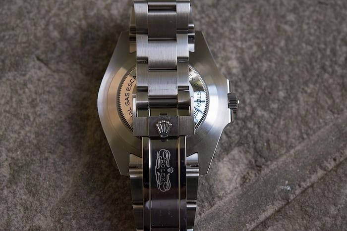 Rolex Sea-Dweller Ref. 126600 clasp and bracelet