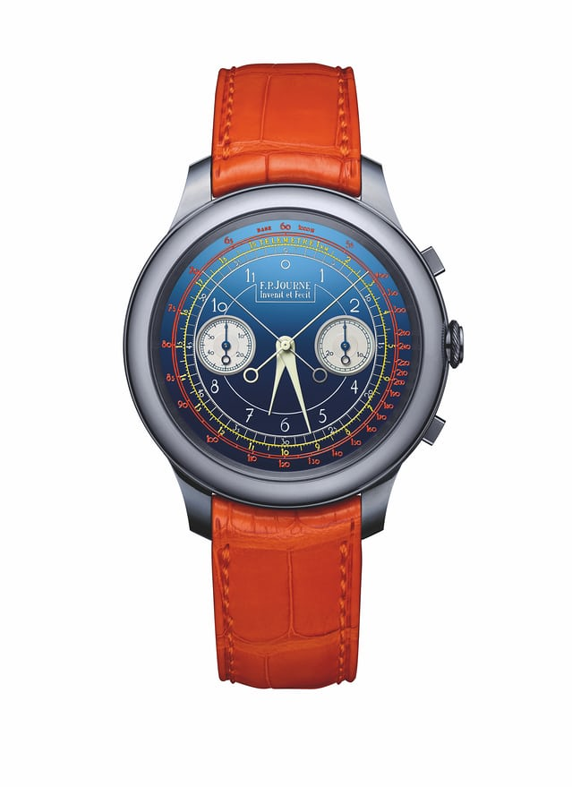 journe only watch rattrapante dial