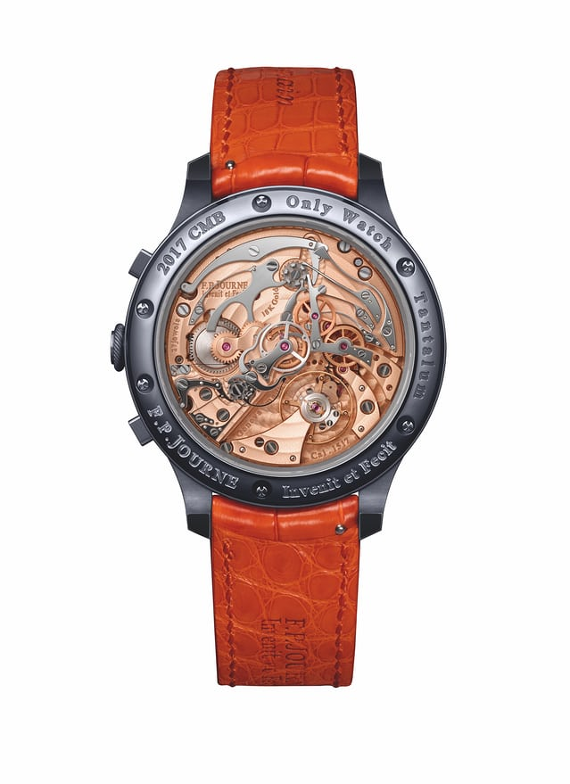 Journe only watch rattrapante