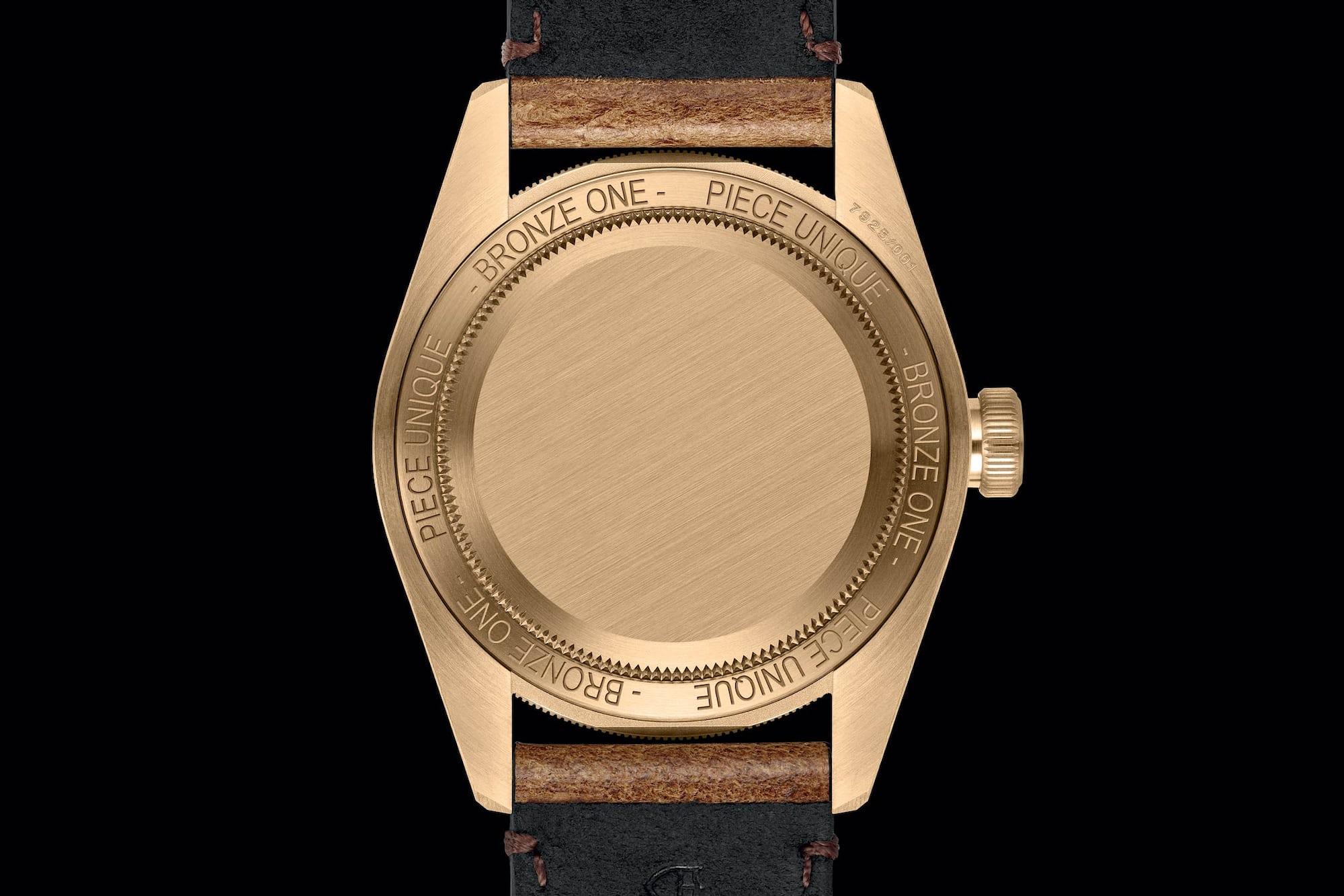 Tudor Black Bay Bronze Only watch 2017