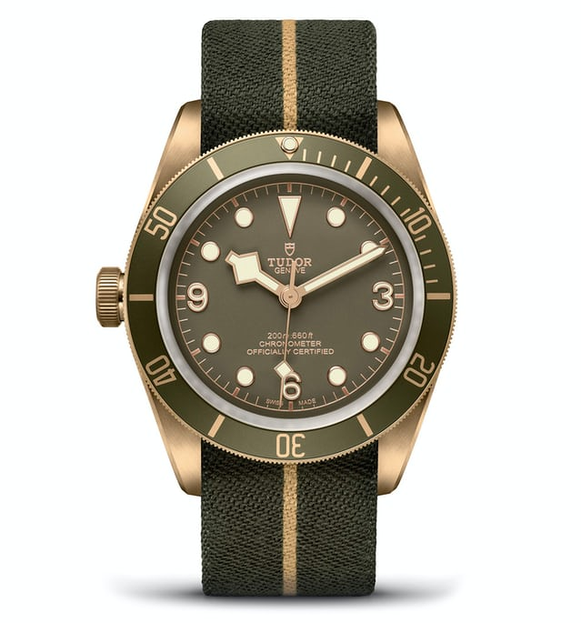 Tudor Black Bay Bronze Only Watch 2017