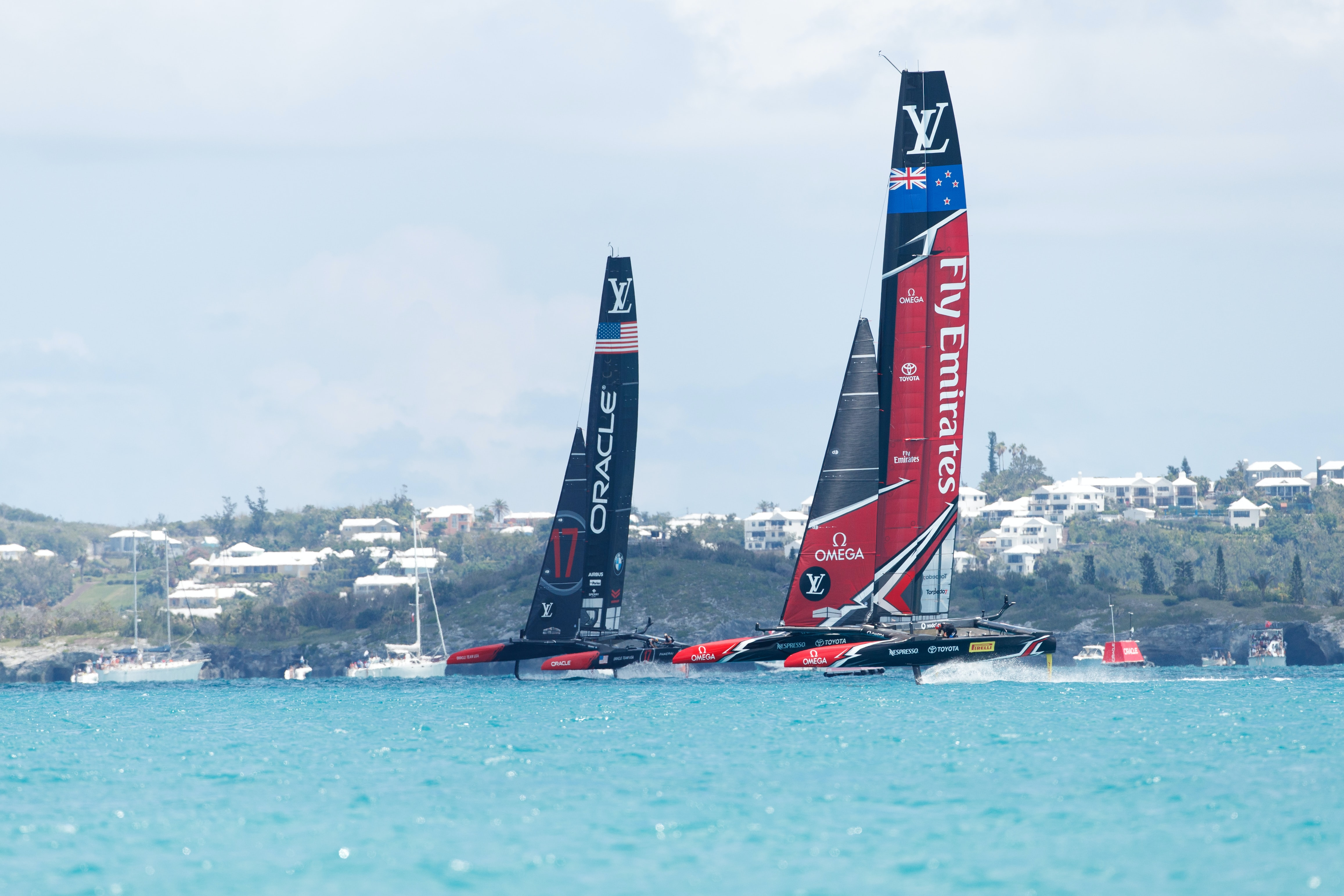 America's Cup 2017 introducing: omega launches x-33 regatta, seamaster planet ocean deep black etnz at the 35th america's cup Introducing: Omega Launches X-33 Regatta, Seamaster Planet Ocean Deep Black ETNZ At The 35th America's Cup OMEGA celebrates as ETNZ wins the AC 2