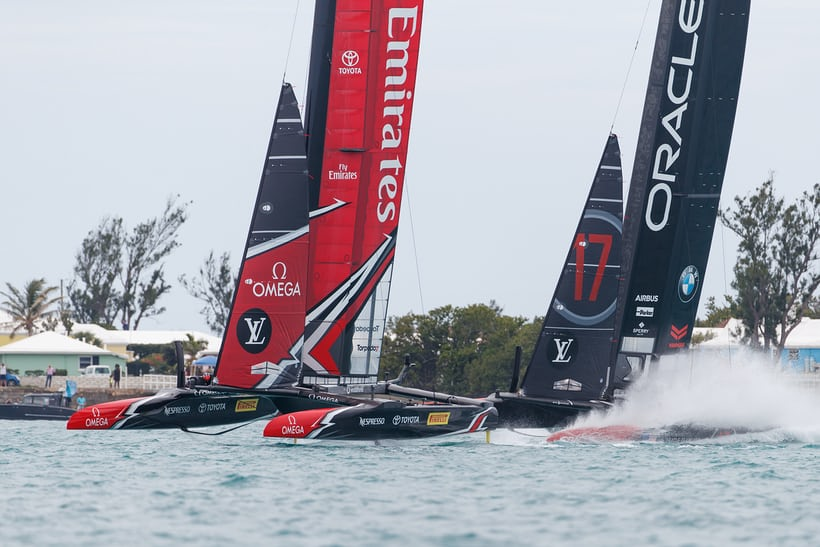 Team New Zealand Vs. Team Oracle, 35th America's Cup