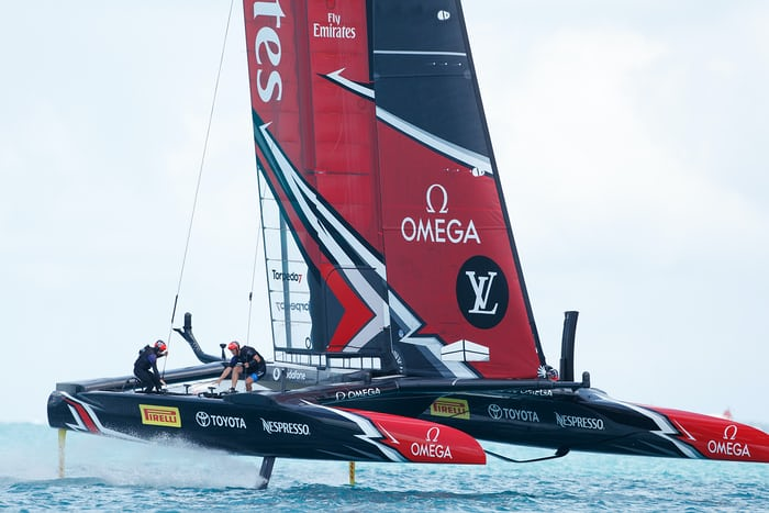 Emirates Team New Zealand 35th America's Cup