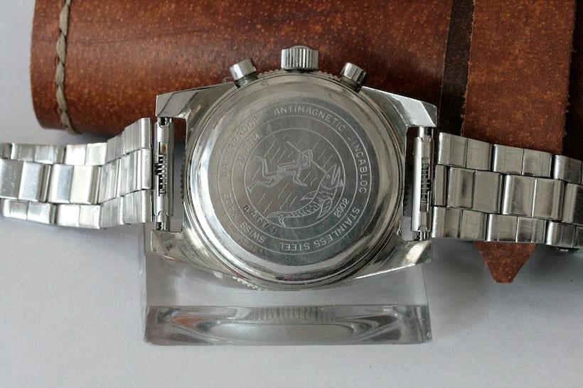Basmich Precision Chronograph case back