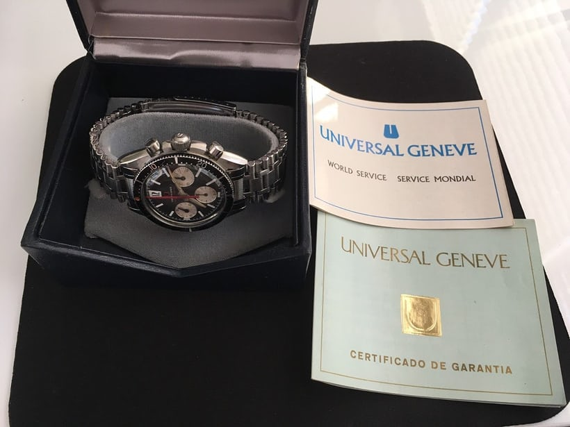 Universal Geneve Space-Compax Reference 885104