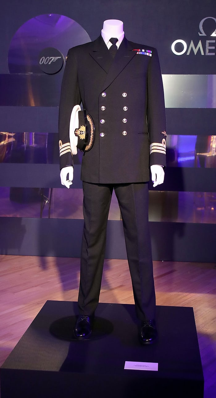 Royal Naval Commander's uniform Omega Commander's Watch Launch