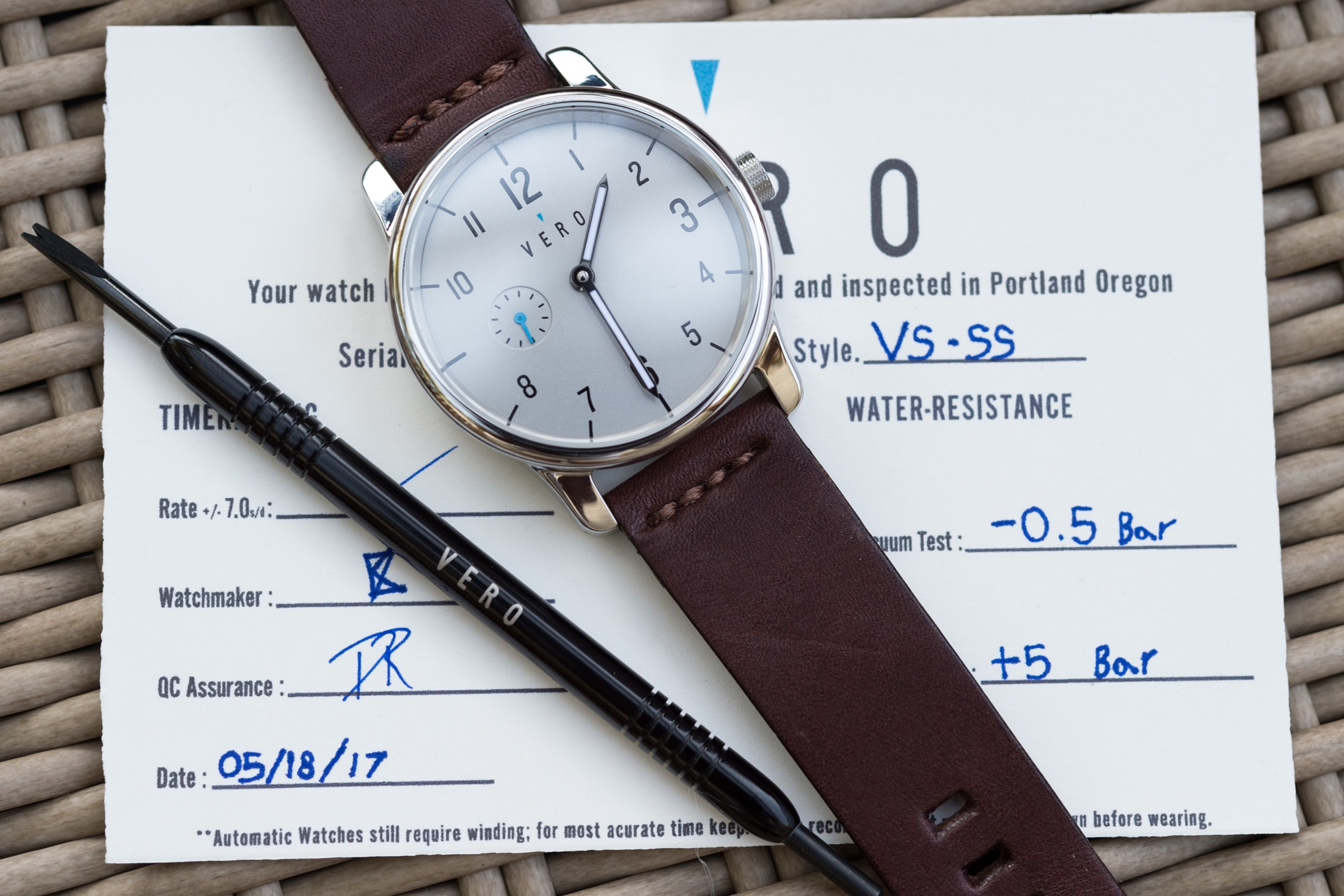 Vero VS-SS timing certificate hands-on: the vero vs-ss and the american-made question Hands-On: The Vero VS-SS And The American-Made Question vero 03