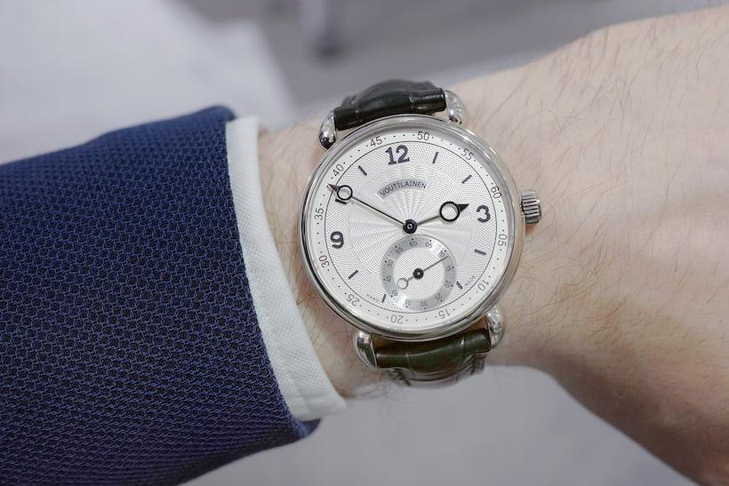 Voutilainen Vingt-8 ISO wristshot